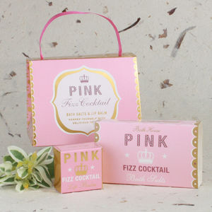 Pink Fizz Cocktail Handbag Treat - bridal beauty