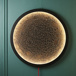 Black Luna Wall Light - lighting