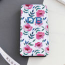 Personalised Floral Flip Phone Case