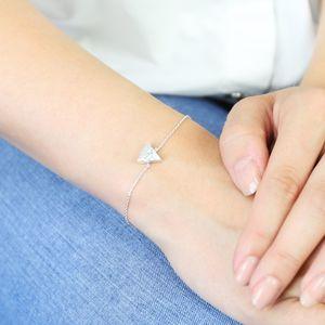 Marble Triangle Bracelet