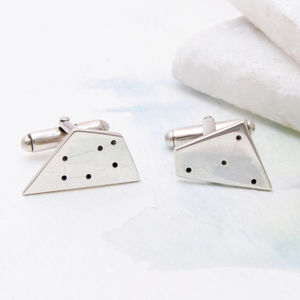 Contemporary Personalised Constellation Cufflinks - new in fashion