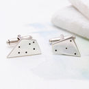 Constellation Cufflinks - Polished