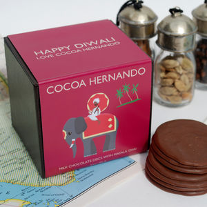 Personalised Masala Chai Milk Chocolate - food & drink sale