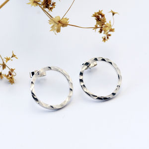 Circle Earrings - earrings