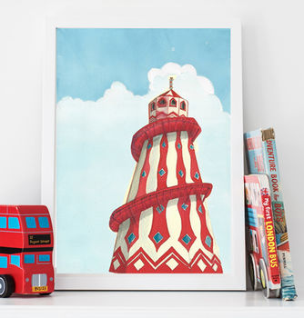 Helter Skelter Children's Art Print