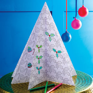 Christmas Three D Tree Poster - shop by price