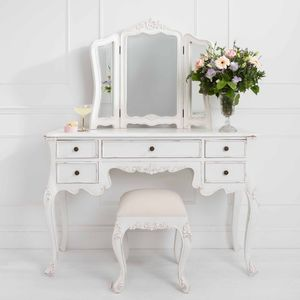 Classic Five Drawer Dressing Table - dressing tables