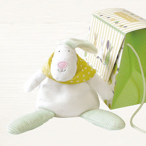 Baby Beanie Rabbit And Gift Bag - gifts for babies