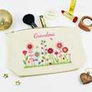 Personalised Grandma Make Up Case