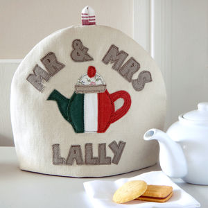 Personalised Irish Flag Tea Cosy