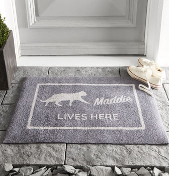 Personalised Cat Doormat
