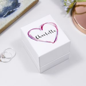 Personalised Luxury Ring Box For Her