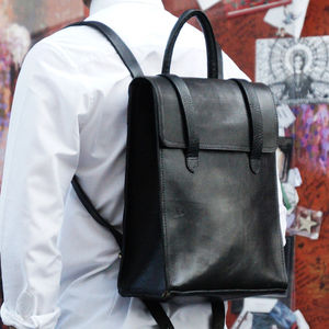 Bowie Leather Backpack - bags