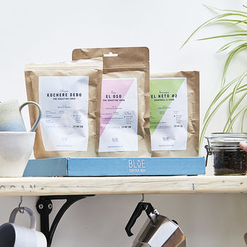 Three Month Gourmet Coffee Box Gift Subscription