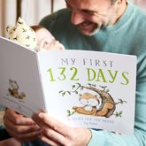 First Fathers Day Personalised Book - christening