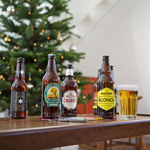 Case Of 12 Golden And Pale Ales - gifts to drink