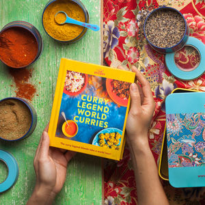 The Spicery's World Curries Cookbook Kit - cooking kits
