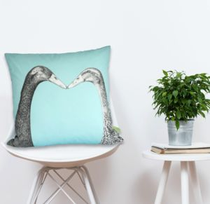 The Devoted Ducks Cushion - cushions