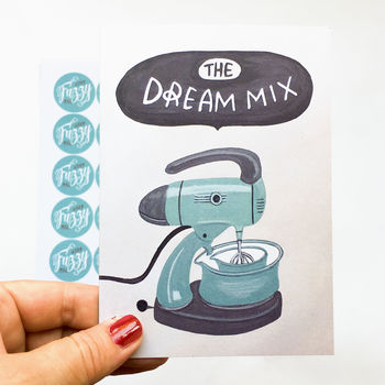'The Dream Mix' Engagement/Wedding/Anniversary Card