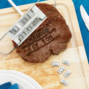 Personalised Barbecue Branding Iron - 50th birthday gifts