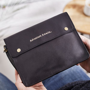 Family Leather Travel Wallet - 30th birthday gifts