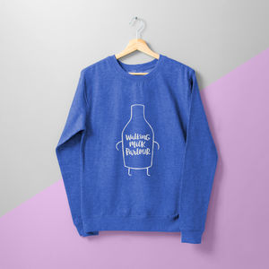 'Milk Parlour' Ladies Sweater