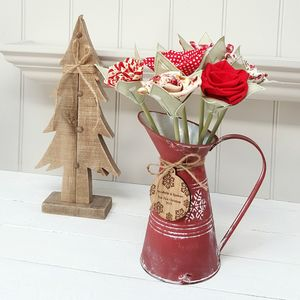 Christmas Flowers With Tag And Jug Option