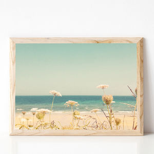 Water And Lace Photographic Landscape Print