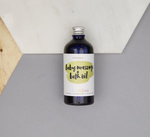 Organic Baby Bath And Massage Oil