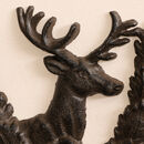 Cast Iron Stag Garden Hook