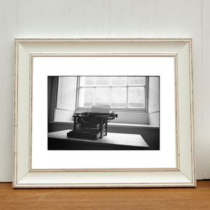 Typewriter, Ickworth Hall Art Print - photography & portraits