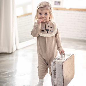 3D Lion Bib Jumpsuit - fancy dress