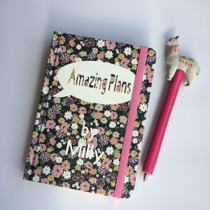 Personalize Amazing Plan Book - personalised sale