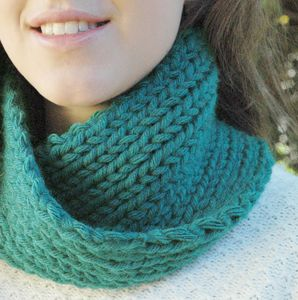 Chunky Scarf 'Learn To Knit' Kit - sewing & knitting