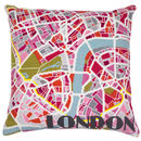 London Light City Map Tapestry Kit