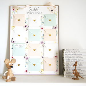 Baby Shower Keepsake And Game