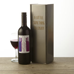 Personalised Chilean Red Wine - gifts for grandfathers