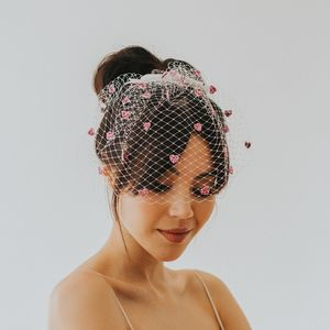 Lovesick Glitter Birdcage Veil - wedding fashion