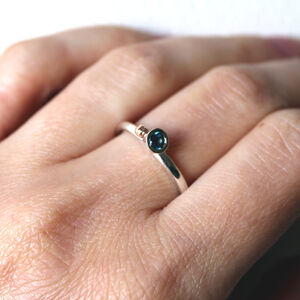 Gemstone Ocean Ring