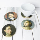 National Gallery Portraits Coaster Set