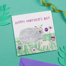 Lamb Mother's Day Card
