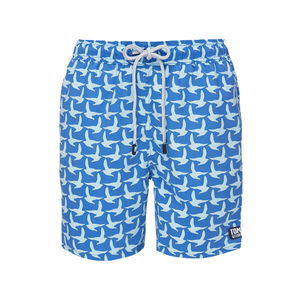 Men's Cobalt Blue Seagulls Swimming Shorts