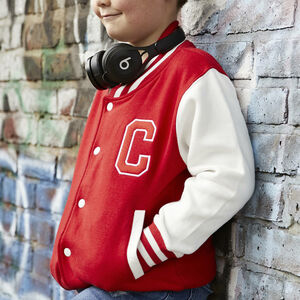 Personalised Adult Embroidered Varsity Jacket