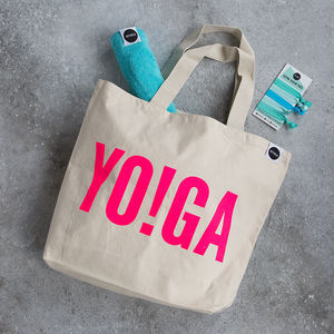 Yo!Ga The Gym Tote Fit Kit, Gift Box - women's fashion