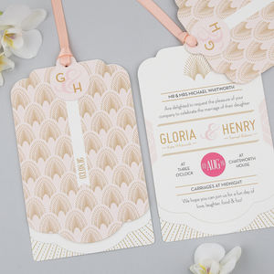 Decodence Luxe Invitation Set