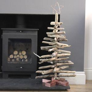 Copper And Driftwood Tree - christmas sale