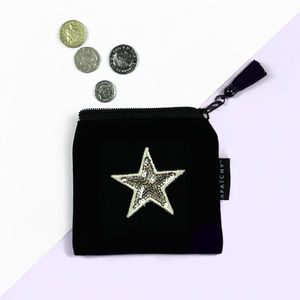 Customised Velvet Purse