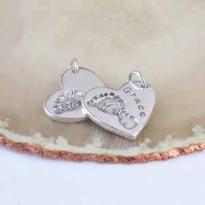 Personalised Hand Or Footprint Charm - charm jewellery