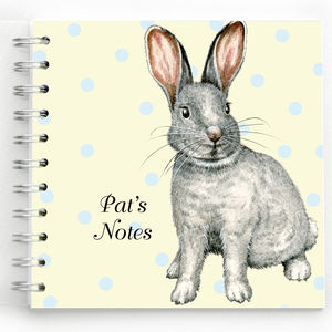 Bunny Rabbit Notebook