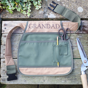 Personalised Garden Tool Belt - gifts for grandfathers